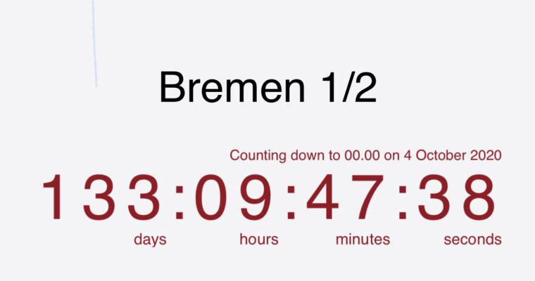 Klar til Bremen?